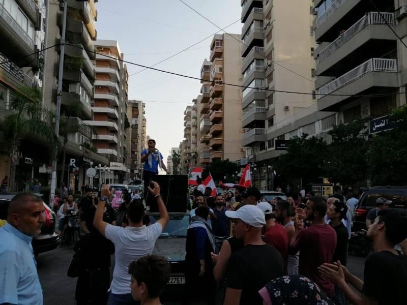 Rassemblement à Mazraat Yachouh :