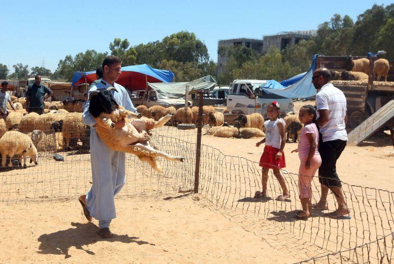 Ambiance morose en Libye pour l'Adha