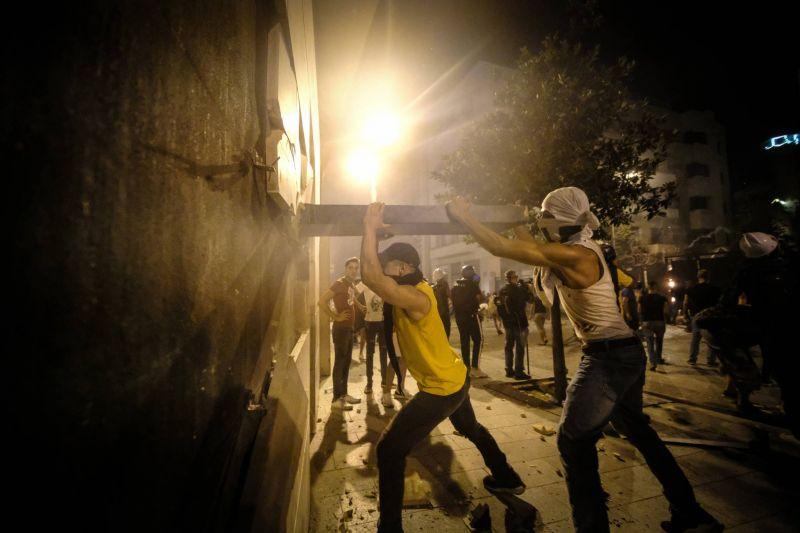 «Nous ne quitterons pas la rue avant qu'ils n'abandonnent le pouvoir»