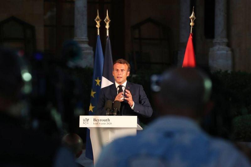 Macron : C'est le temps des responsabilités aujourd'hui pour le Liban et pour ses dirigeants