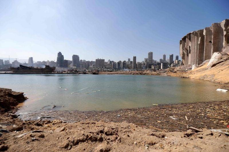 L'explosion à Beyrouth a engendré un cratère de 43 mètres de profondeur