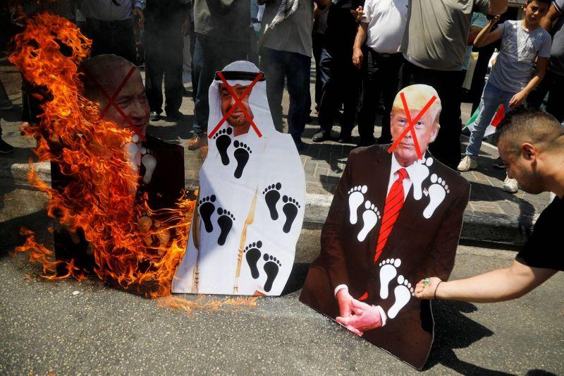 Dans le nouveau monde arabe, la Palestine n'existe pas