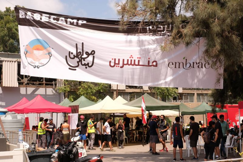 « Nous sommes en train de sauver Beyrouth car personne ne le fait à part nous »