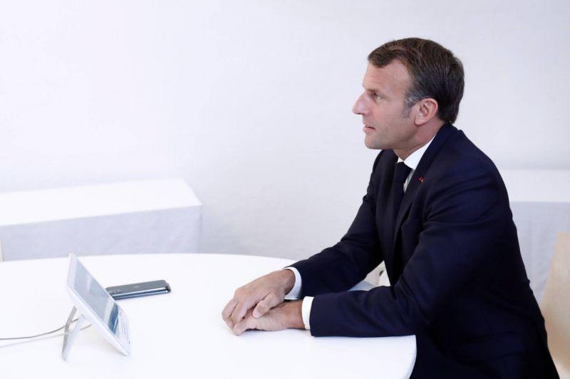 Pour Macron, la politique d'Erdogan est