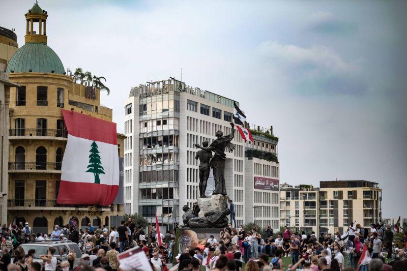 La «colère du Grand Liban» embrase le centre-ville