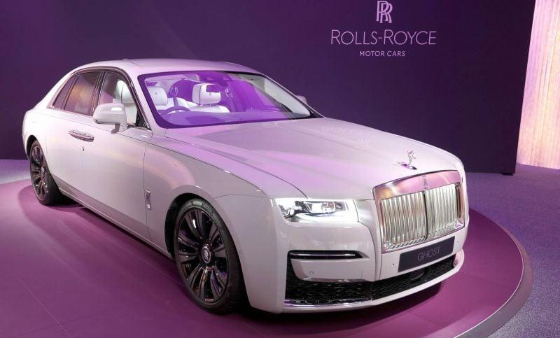 Rolls-Royce Ghost: minimalisme et extravagance