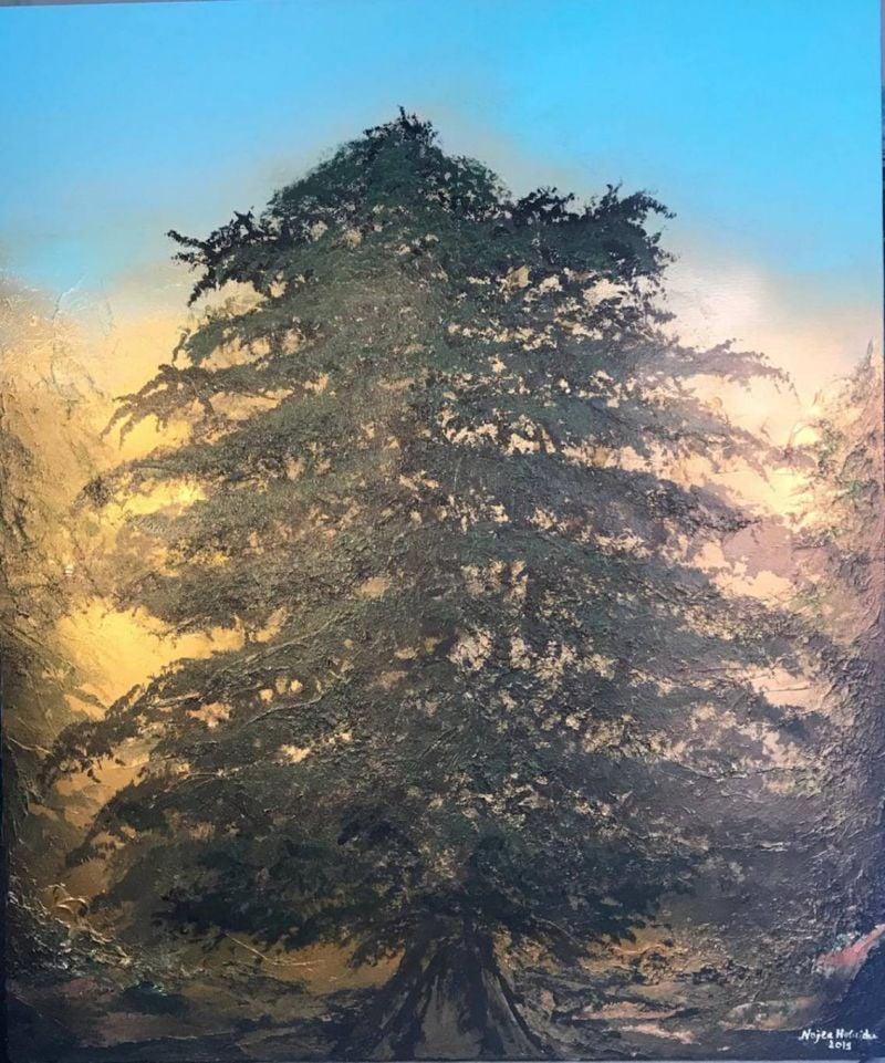Quand les artistes font renaître le cèdre libanais...