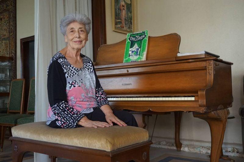 La leçon de piano de May Melki