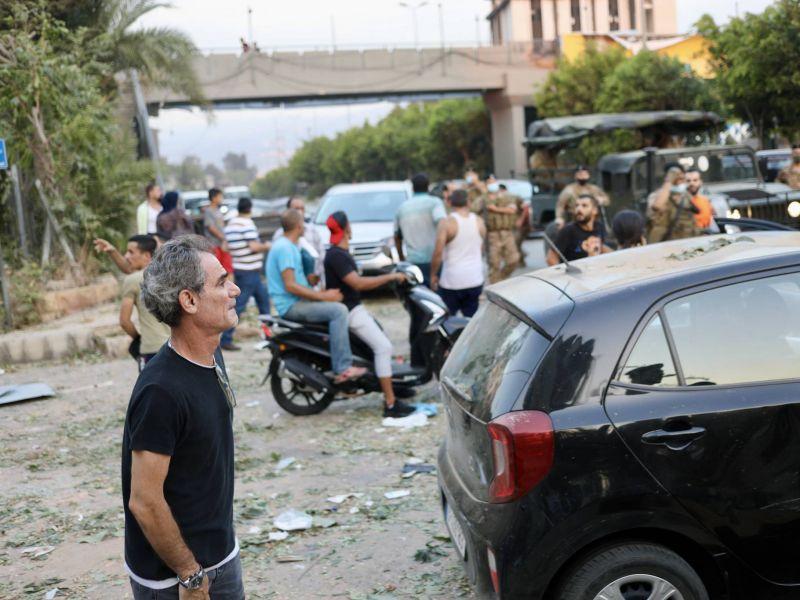 A leur sortie d'hôpital, de nombreux blessés du 4 août sont abandonnés à leur sort