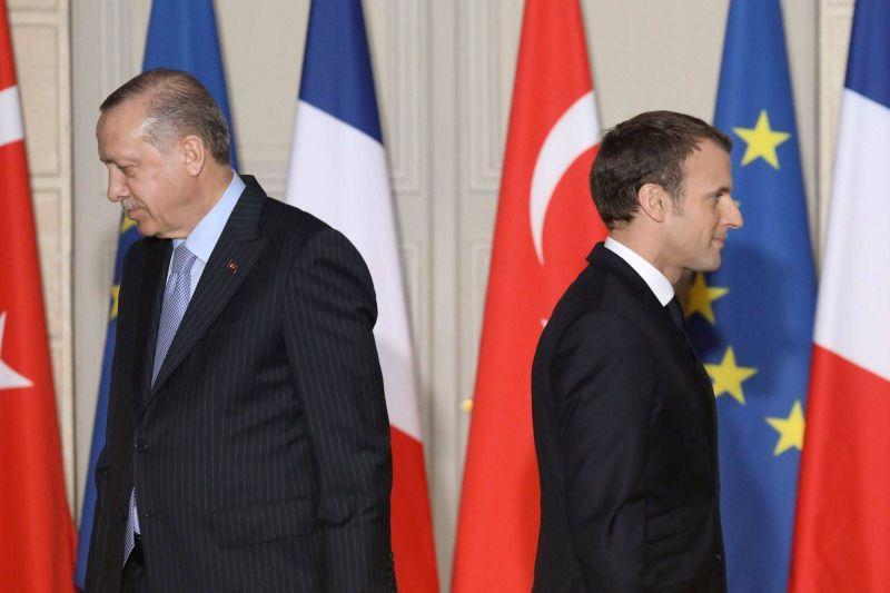 Entre Macron et Erdogan, le bras de fer sur tous les fronts