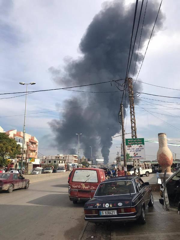 Important incendie suite au sabotage d'un pipeline dans le Akkar