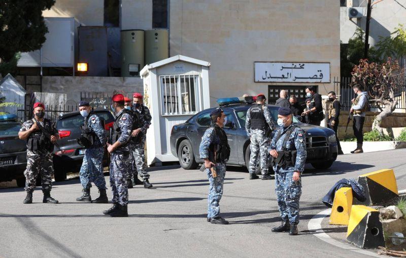 Des dizaines de détenus s'évadent du Palais de Justice de Baabda