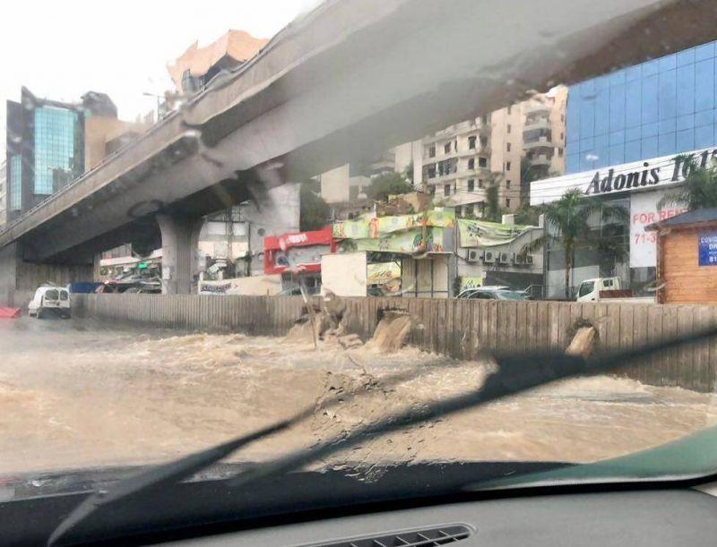 Le Liban inondé dès les premières pluies, un cauchemar appelé à se répéter