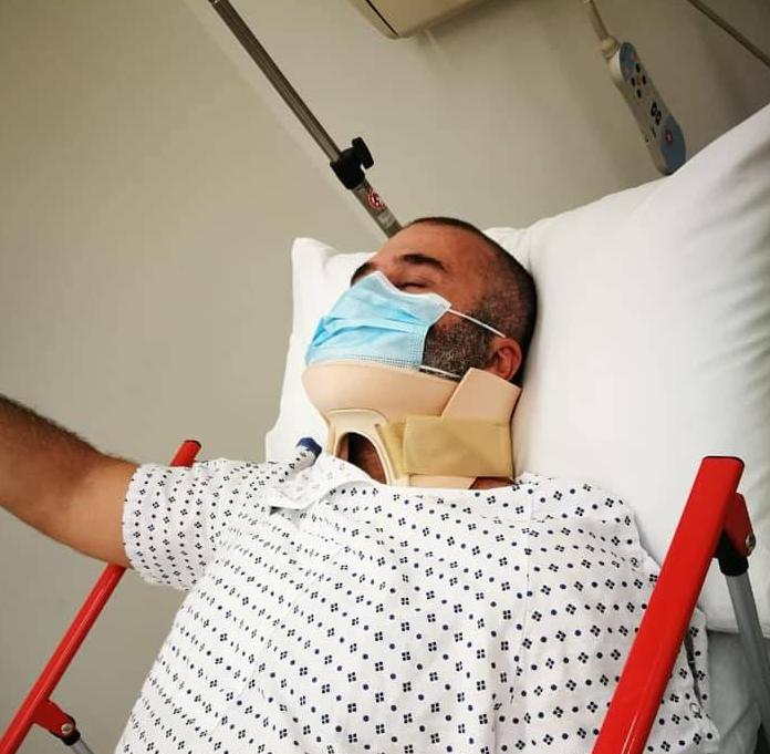 Le militant Wassef Haraké blessé lors d'une manifestation visant Riad Salamé