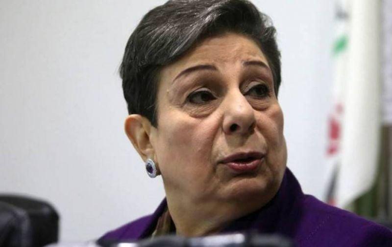 Démission de Hanane Achraoui, ténor de l'OLP, qui appelle à rajeunir le leadership palestinien