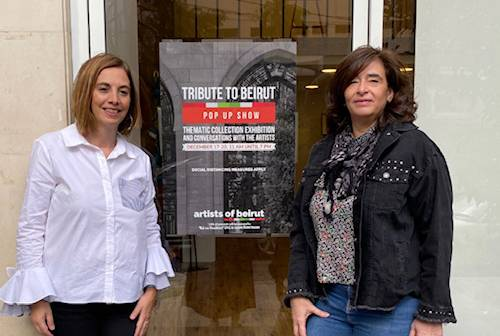Ces «Artists of Beirut» qui rendent hommage à leur ville