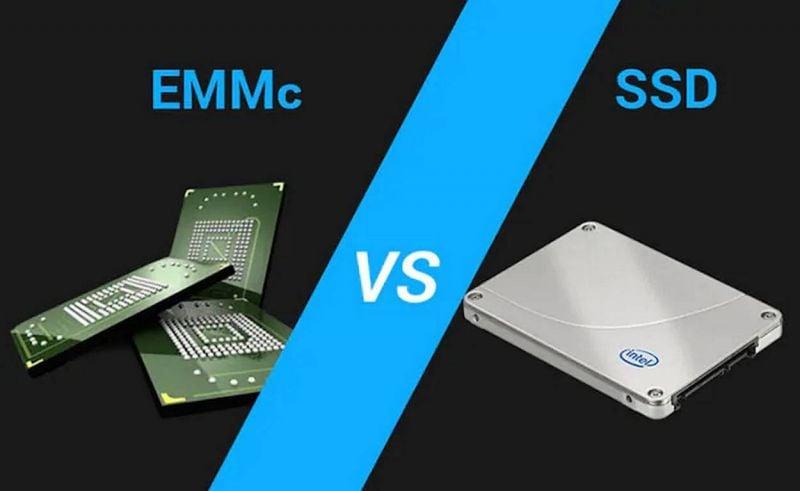 Quelle est la différence entre un disque SSD et une carte eMMC ?