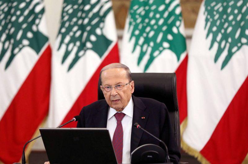 Aoun appelle les Libanais à