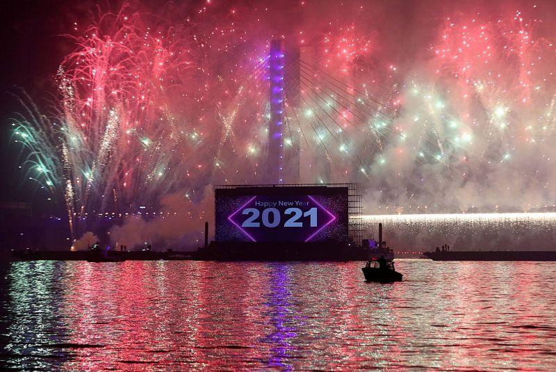 La planète célèbre plus discrètement 2021 à l'ombre de la pandémie