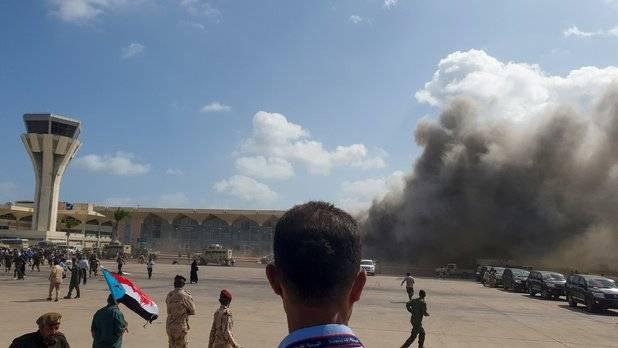 Vingt-six morts dans des explosions à l'arrivée du gouvernement d'union à Aden