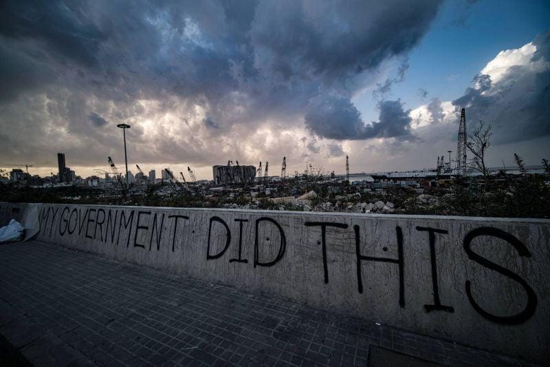 Explosion du portde Beyrouth : 25 détenus et d'innombrables questions