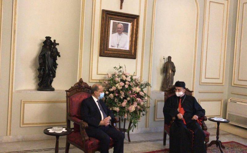 Reçu par Raï, Aoun espère