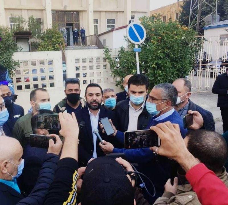 Agression d'un caméraman de la LBCI : sit-in de journalistes  à Tripoli