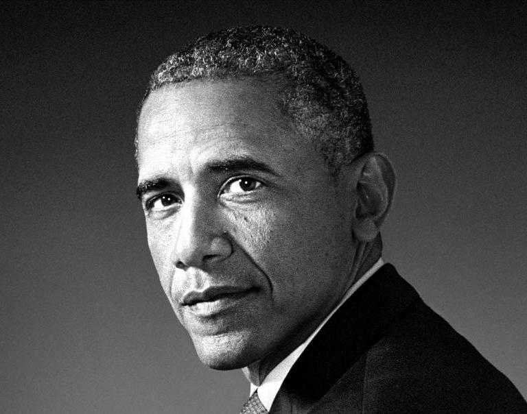 Obama, de ses rires à ses larmes