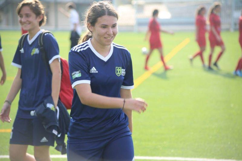 Danielle Jarrouje, le foot dans la peau