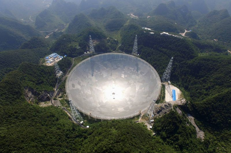 Avec son télescope géant, la Chine voit loin