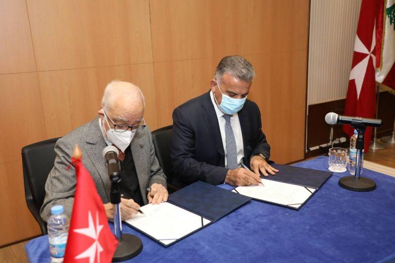 L'ordre de Malte Liban et la Sûreté générale signent un protocole de coopération