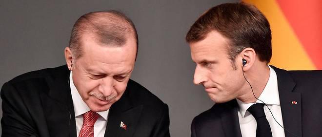 «Cher Tayyip»: Macron et Erdogan s'écrivent pour apaiser les tensions