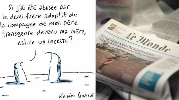 Désavoué, un dessinateur de presse quitte Le Monde