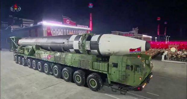 Pyongyang: un missile balistique lancé d'un sous-marin
