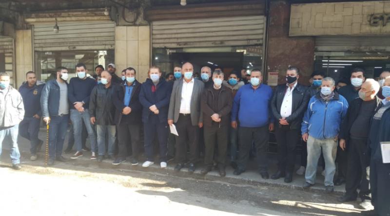 Sit-in de boulangers à Tripoli