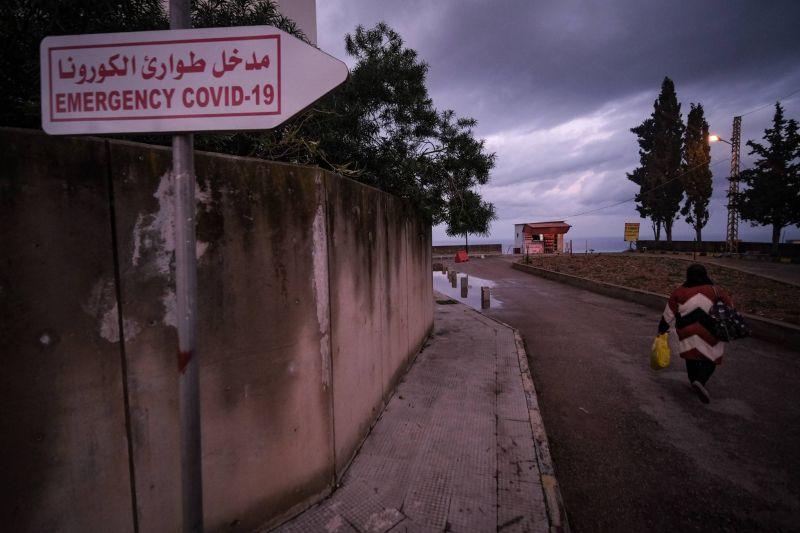 Lebanon sees record COVID-19 deaths for the second day in a row as hospitals struggle to contain the virus' surge
