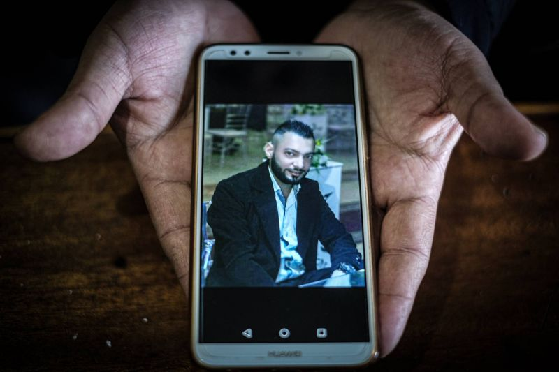 Not hungry, but frustrated: Omar Tayba's family describes the brother and son who was killed in Tripoli's protests