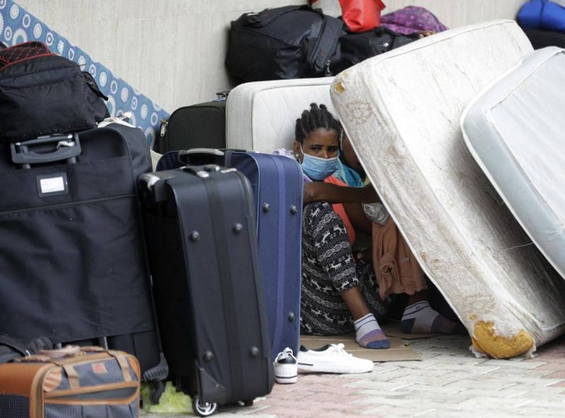 Eviction has become an all too familiar scenario in refugee and migrant worker communities