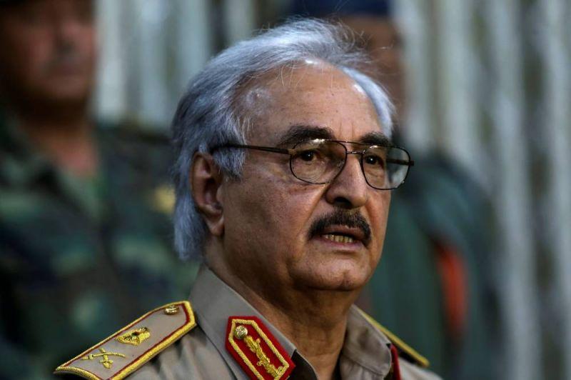 Haftar promet le soutien de ses forces au processus de paix