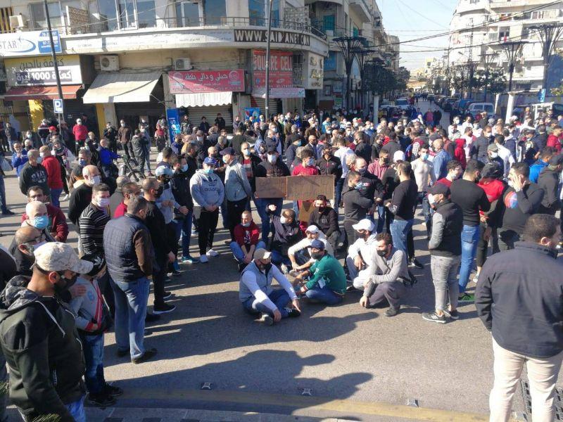 Les commerçants de Saïda protestent contre la prolongation du confinement