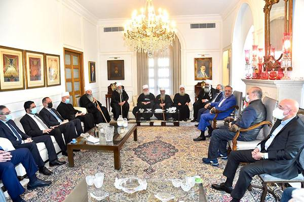 Les druzes du 8 Mars martèlent leur droit à une quote-part au sein de l'exécutif