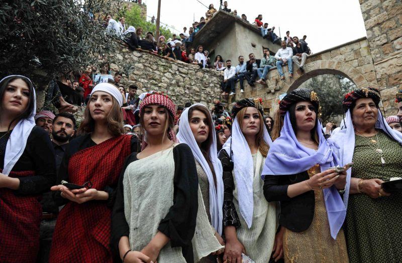 Persécutés par l'EI, les Yazidis craignent de nouvelles tensions à Sinjar