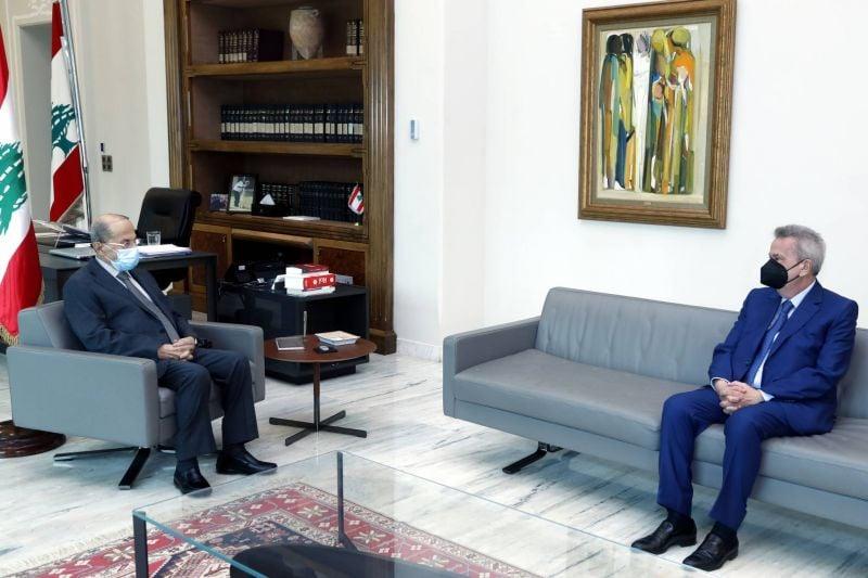 Aoun demande à Salamé d'identifier les causes de la dépréciation de la livre