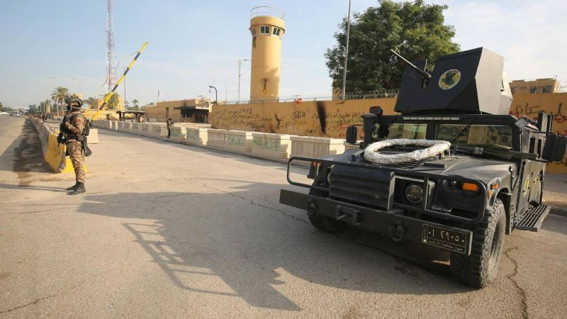 Tirs de roquettes en direction de l'ambassade des États-Unis à Bagdad