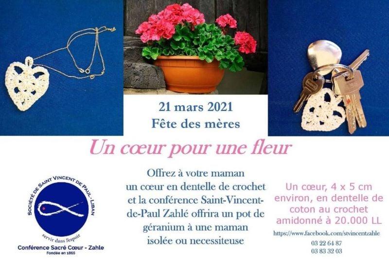 Initiative SSVP-Zahlé pour la fête des Mères
