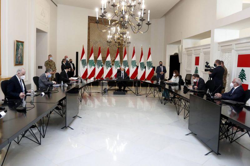Dépréciation de la livre, contestation : une série de mesures prises à Baabda