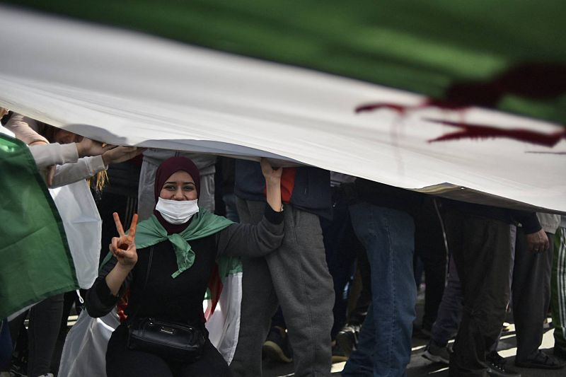 Des milliers de manifestants du Hirak à nouveau dans la rue