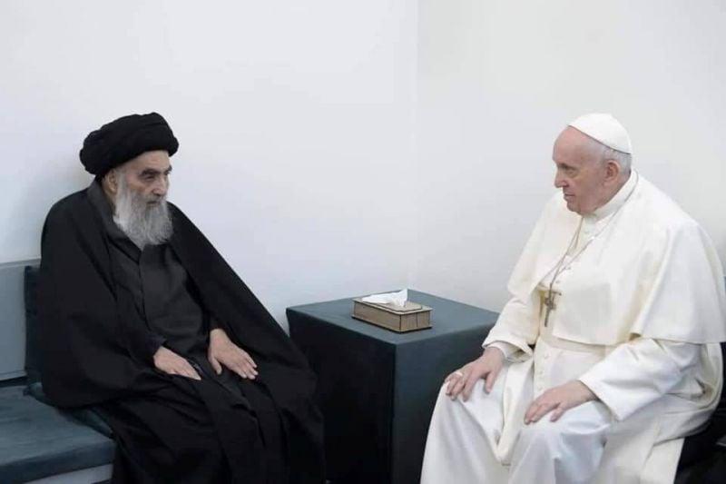 Le pape et l'ayatollah chiite Sistani s'engagent pour la