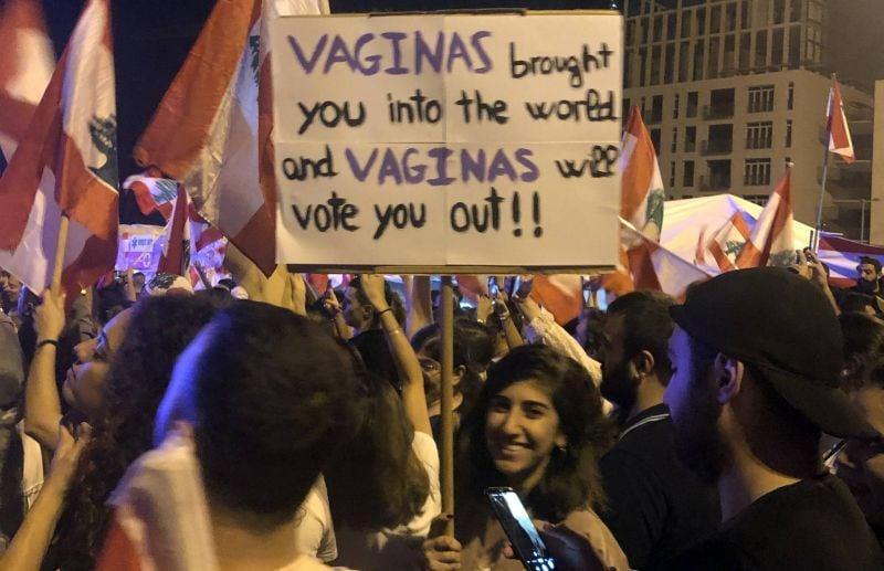Les monologues du vagin au Liban