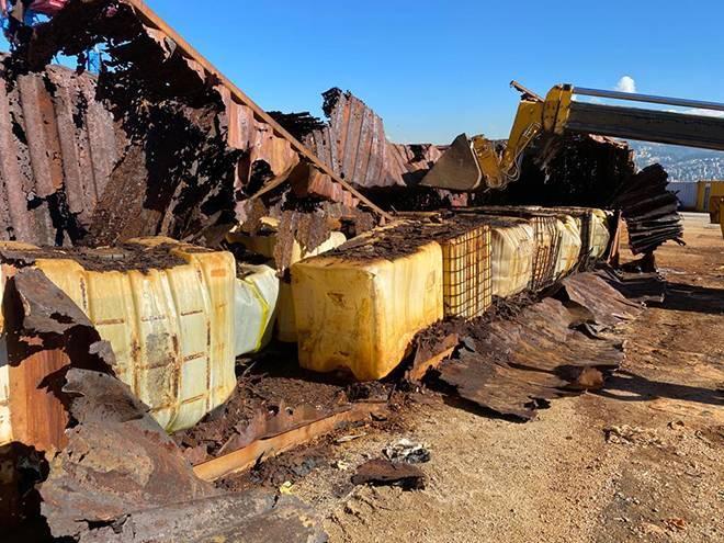 La voie semble s'ouvrir pour l'exportation des produits toxiques du port